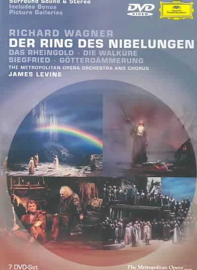 WAGNER:DER RING DES NIBELUNGEN BY LEVINE,JAMES (DVD)